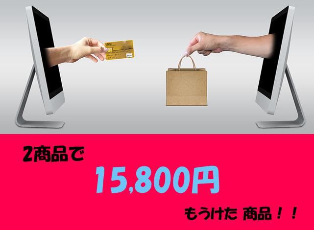 メルカリ転売で2商品で15800円稼いだ商品